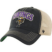 '47 Men's Minnesota Vikings Vintage Tuscaloosa Black Adjustable Hat