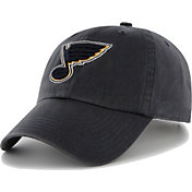 '47 Men's St. Louis Blues Clean Up Navy Adjustable Hat