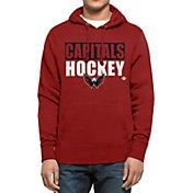 '47 Men's Washington Capitals Headline Pullover Red Hoodie