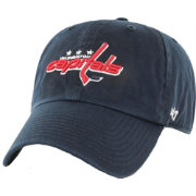 '47 Men's Washington Capitals Navy Clean Up Adjustable Hat