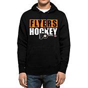 '47 Men's Philadelphia Flyers Headline Pullover Black Hoodie