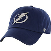 '47 Men's Tampa Bay Lightning Royal Clean Up Adjustable Hat