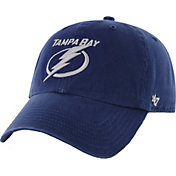 '47 Men's Tampa Bay Lightning Clean Up Royal Adjustable Hat