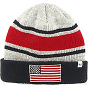 '47 Men's USA Operation Hat Trick Grey Knit Hat