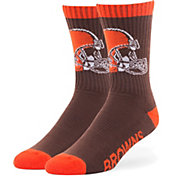 '47 Cleveland Browns Bolt Crew Socks