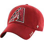 '47 Women's Arizona Diamondbacks Sparkle Clean Up Red Adjustable Hat