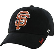 '47 Women's San Francisco Giants Sparkle Black Adjustable Hat