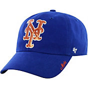 '47 Women's New York Mets Sparkle Royal Adjustable Hat