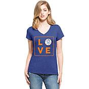 '47 Women's New York Mets Club Royal V-Neck T-Shirt