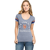'47 Women's New York Mets Fantasy Royal Scoop Neck T-Shirt