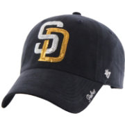 '47 Women's San Diego Padres Sparkle Clean Up Navy Adjustable Hat
