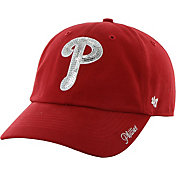 '47 Women's Philadelphia Phillies Sparkle Red Adjustable Hat