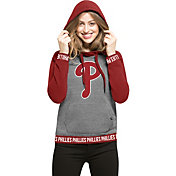 '47 Women's Philadelphia Phillies Grey Encore Pullover Hoodie