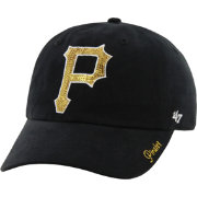 '47 Women's Pittsburgh Pirates Sparkle Black Adjustable Hat