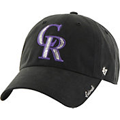 '47 Women's Colorado Rockies Sparkle Black Adjustable Hat