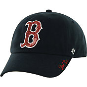 '47 Women's Boston Red Sox Sparkle Navy Adjustable Hat
