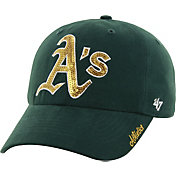 '47 Women's Oakland Athletics Sparkle Green Adjustable Hat