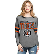 '47 Women's Detroit Tigers Grey Courtside Long Sleeve Shirt