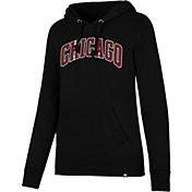 '47 Women's Chicago Bulls Headline Pullover Hoodie