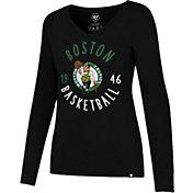 '47 Women's Boston Celtics Splitter Long Sleeve Shirt