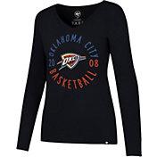 '47 Women's Oklahoma City Thunder Splitter Long Sleeve Shirt