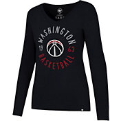 '47 Women's Washington Wizards Splitter Long Sleeve Shirt