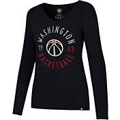 '47 Women's Washington Wizards Splitter Long Sleeve Shirt
