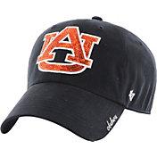 '47 Women's Auburn Tigers Blue Sparkle '47 Clean Up Hat