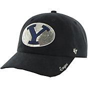 '47 Women's BYU Cougars Blue Sparkle Clean-Up Adjustable Hat