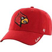 '47 Women's Louisville Cardinals Clean Up Sparkle Cardinal Red Adjustable Hat