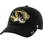 '47 Women's Missouri Tigers Clean Up Sparkle Black Adjustable Hat