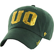 '47 Women's Oregon Ducks Green Sparkle Clean-Up Adjustable Hat