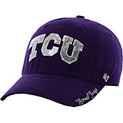 '47 Women's TCU Horned Frogs Purple Sparkle Clean-Up Adjustable Hat