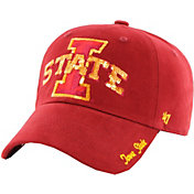 '47 Women's Iowa State Cyclones Cardinal Sparkle Clean-Up Adjustable Hat