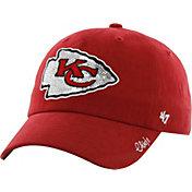 '47 Women's Kansas City Chiefs Sparkle Adjustable Red Hat