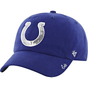 '47 Women's Indianapolis Colts Sparkle Adjustable Blue Hat