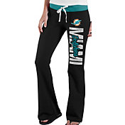 '47 Women's Miami Dolphins Power Stretch Black Pants