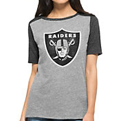 '47 Women's Oakland Raiders Empire Grey T-Shirt
