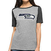 '47 Women's Seattle Seahawks Empire Grey T-Shirt