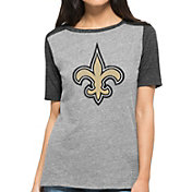 '47 Women's New Orleans Saints Empire Grey T-Shirt