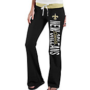 '47 Women's New Orleans Saints Power Stretch Black Pants