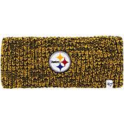 '47 Women's Pittsburgh Steelers Prima Black Headband