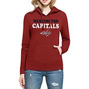 '47 Women's Washington Capitals Headline Pullover Red Hoodie