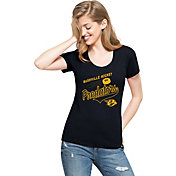 '47 Women's Nashville Predators Club Navy Scoop Neck T-Shirt