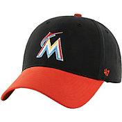 47 Toddler Miami Marlins Short Stack MVP Orange/Black Adjustable Hat