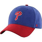 '47 Youth Philadelphia Phillies Short Stack MVP Royal/Red Adjustable Hat