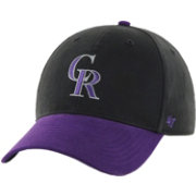 47 Toddler Colorado Rockies Short Stack MVP Purple/Black Adjustable Hat