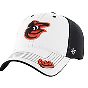 '47 Youth Baltimore Orioles Revolution MVP White/Black Adjustable Hat