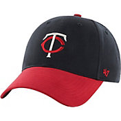 '47 Youth Minnesota Twins Short Stack MVP Navy/Red Adjustable Hat