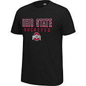 4th and 1 Men's Ohio State Buckeyes Black Staple T-Shirt